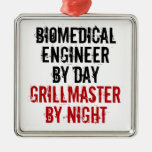 Grillmaster Biomedical Engineer Christmas Ornament