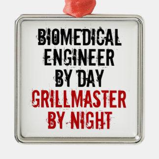 Grillmaster Biomedical Engineer Metal Ornament