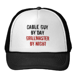 Grillmaster Cable Guy Trucker Hat