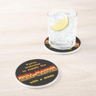 Grillmaster (customizable) coaster