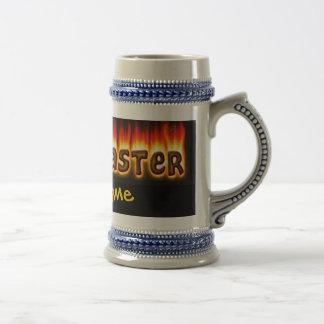 Grillmaster (customizable) Stein 18 Oz Beer Stein