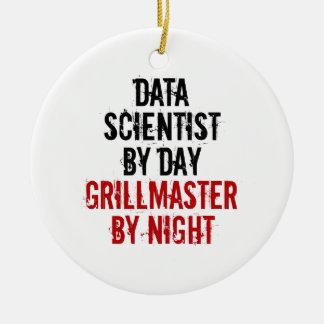 Grillmaster Data Scientist Ceramic Ornament