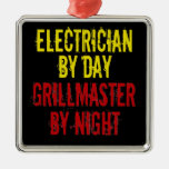 Grillmaster Electrician Christmas Tree Ornament