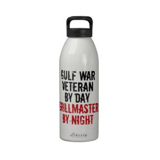 Grillmaster Gulf War Veteran Reusable Water Bottle