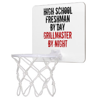 Grillmaster High School Freshman Mini Basketball Backboard