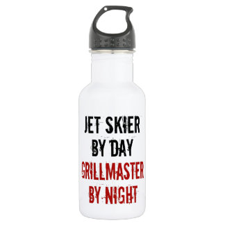 Grillmaster Jet Skier Stainless Steel Water Bottle