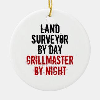 Grillmaster Land Surveyor Ceramic Ornament