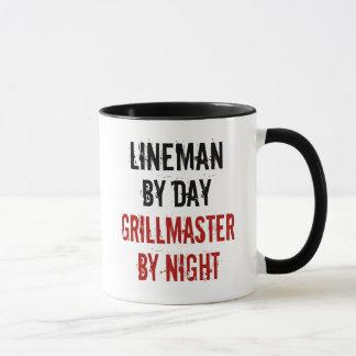 Grillmaster Lineman Mug