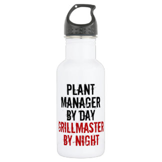 Grillmaster Plant Manager 18oz Water Bottle