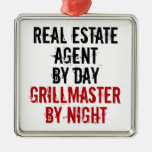 Grillmaster Real Estate Agent Ornaments