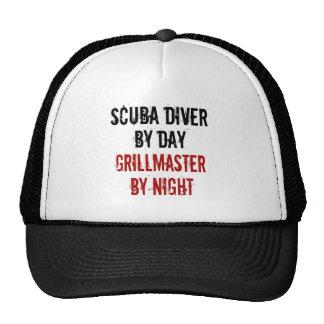 Grillmaster Scuba Diver Trucker Hat