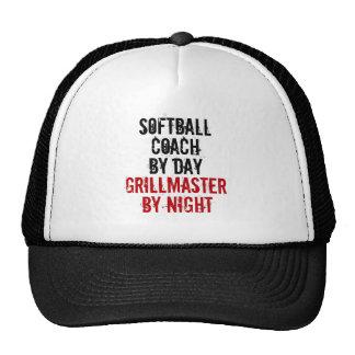 Grillmaster Softball Coach Trucker Hat