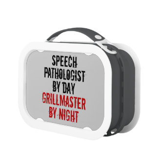 Grillmaster Speech Pathologist Yubo Lunch Boxes