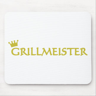 Grillmeister icon mouse pad