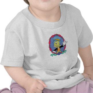 Grillo de Disney Pinocchio Jiminy Camiseta