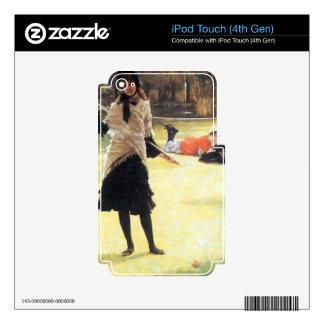Grillo de James Tissot Skins Para iPod Touch 4G