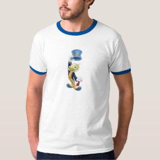 Grillo de Jiminy que levanta su gorra Disney Poleras
