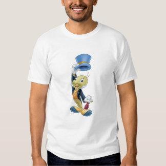Grillo de Jiminy que levanta su gorra Disney Remeras