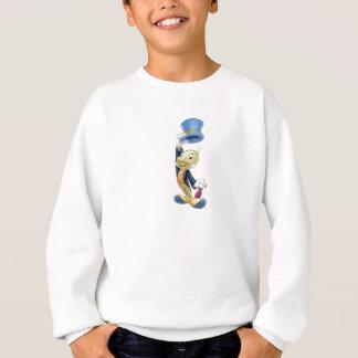 Grillo de Jiminy que levanta su gorra Disney Sudadera