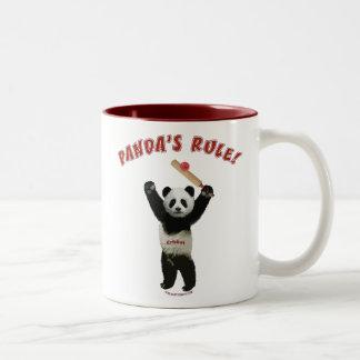 Grillo de la regla de las pandas tazas