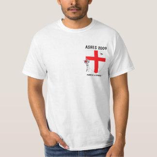 Grillo del inglés de la bandera de Inglaterra Playera