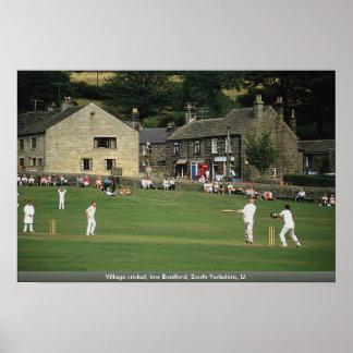 Grillo del pueblo, Bradford baja, South Yorkshire, Poster