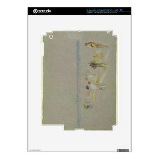 Grillo en las arenas de Goodwin (tiza, w/c y bodyc Pegatinas Skins Para iPad 3