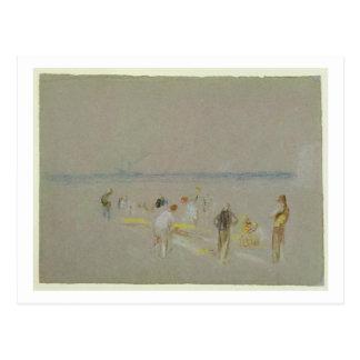 Grillo en las arenas de Goodwin (tiza, w/c y Postales