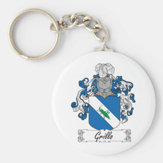 Grillo Family Crest Key Chains