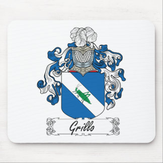 Grillo Family Crest Mouse Pad