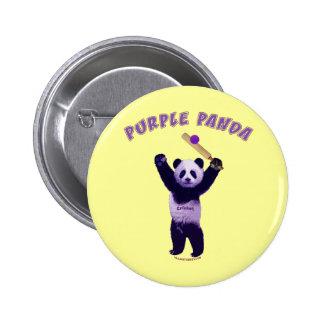 Grillo púrpura de la panda pin