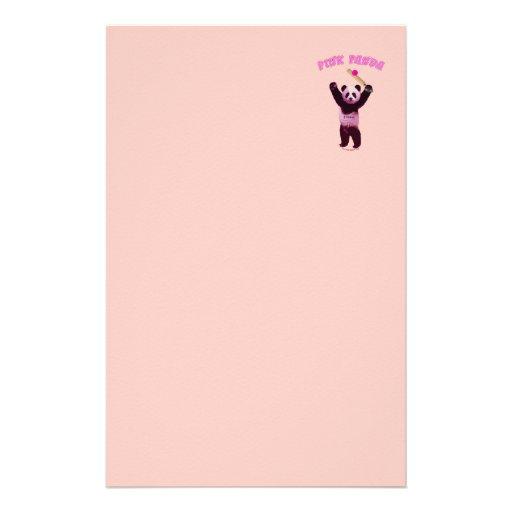 Grillo rosado de la panda  papeleria