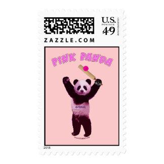 Grillo rosado de la panda franqueo