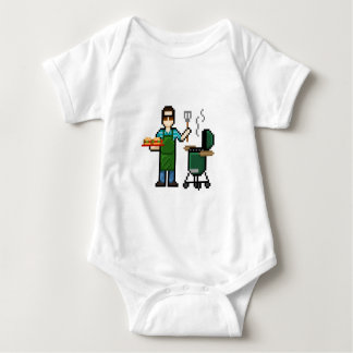 Grillography Baby Bodysuit