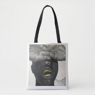 Aztec Themed Grillz Tote Bag