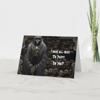 Grim Birthday card