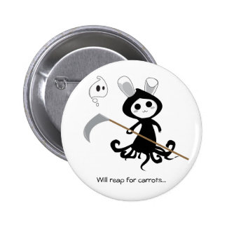 Grim Bunny Button