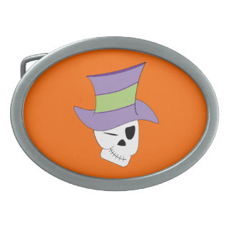 Grim Dandy Oval Belt Buckle