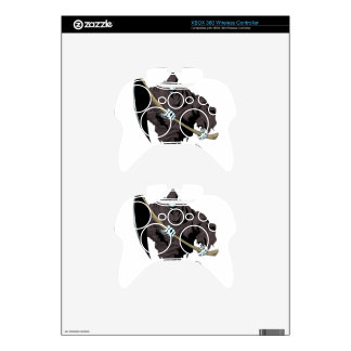 Grim Edge Style Xbox 360 Controller Decal