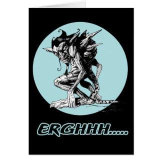Grim Gargoyle Card