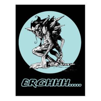 Grim Gargoyle Postcard