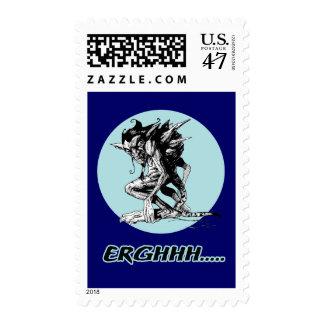 Grim Gargoyle Stamp