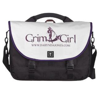 Grim Girl Lap Top Bag Computer Bag