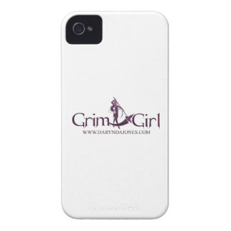 Grim Girliphone 4 barely there QPC template iPhone 4 Cases