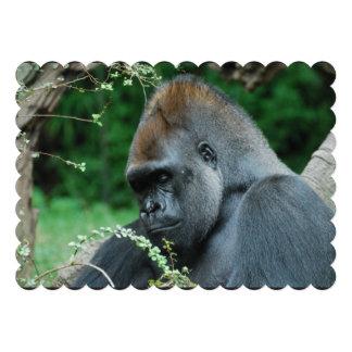 Grim Gorilla Invitations