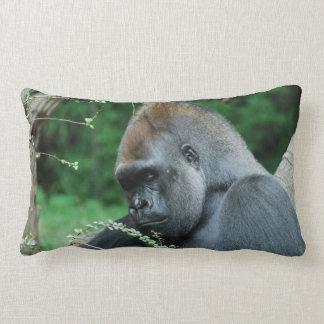 Grim Gorilla Throw Pillows
