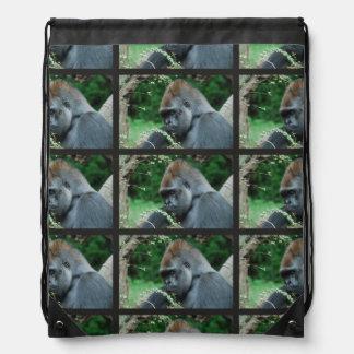 Grim Gorilla Cinch Bag