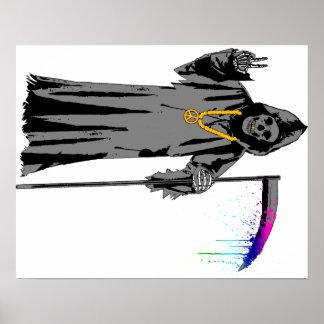 Grim Hippie Poster
