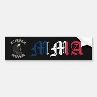 Grim MMA France Bumper Sticker
