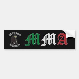 Grim MMA Italy bumper sticker